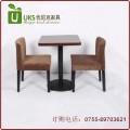 简约风格的大理石餐桌图片