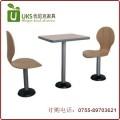 固定脚快餐桌椅|快餐桌椅价格|小吃店快餐桌椅深圳优尼克
