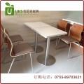 软包坐垫快餐桌椅 各种软包曲木防火板快餐桌椅 厂家直销定做