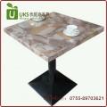 简洁大气实用 优质专业大理石人造石餐桌定做 深圳优尼克