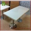 深圳专业餐厅桌椅定做 高品质大理石人造石餐桌工厂直销