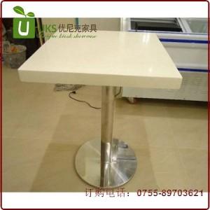 深圳性价比高的大理石餐桌厂家定做 人造石餐桌工厂报价